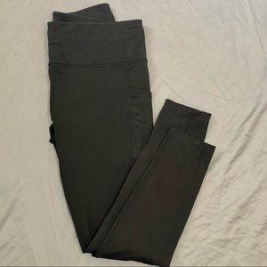 Modetta black performance + luxury active pant